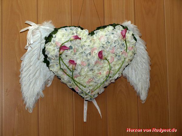Federblueten-Herz