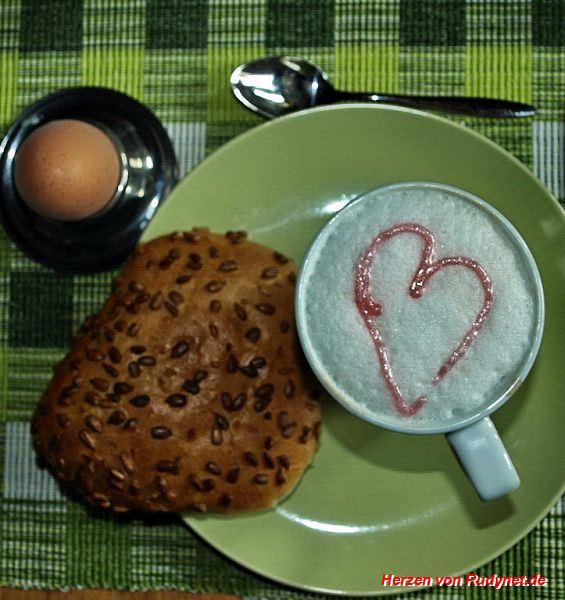 Fruehstuecks-Herz
