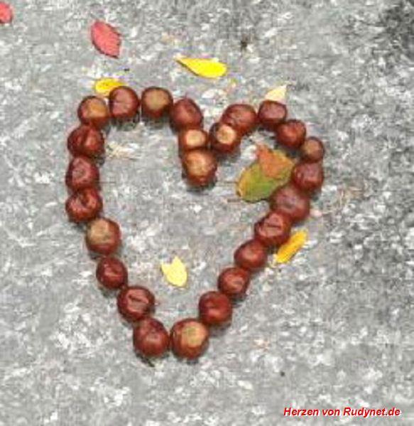 Kastanien-Herz