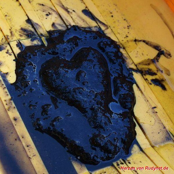 Schlamm-Herz