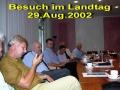 2002-08-29 Besuch im Landtag